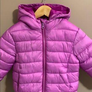 3T purple puffer jacket